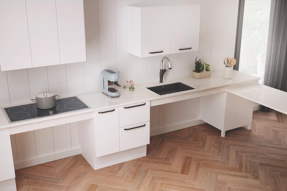 Blanco Develops Precis Undermount Ada Sink Products
