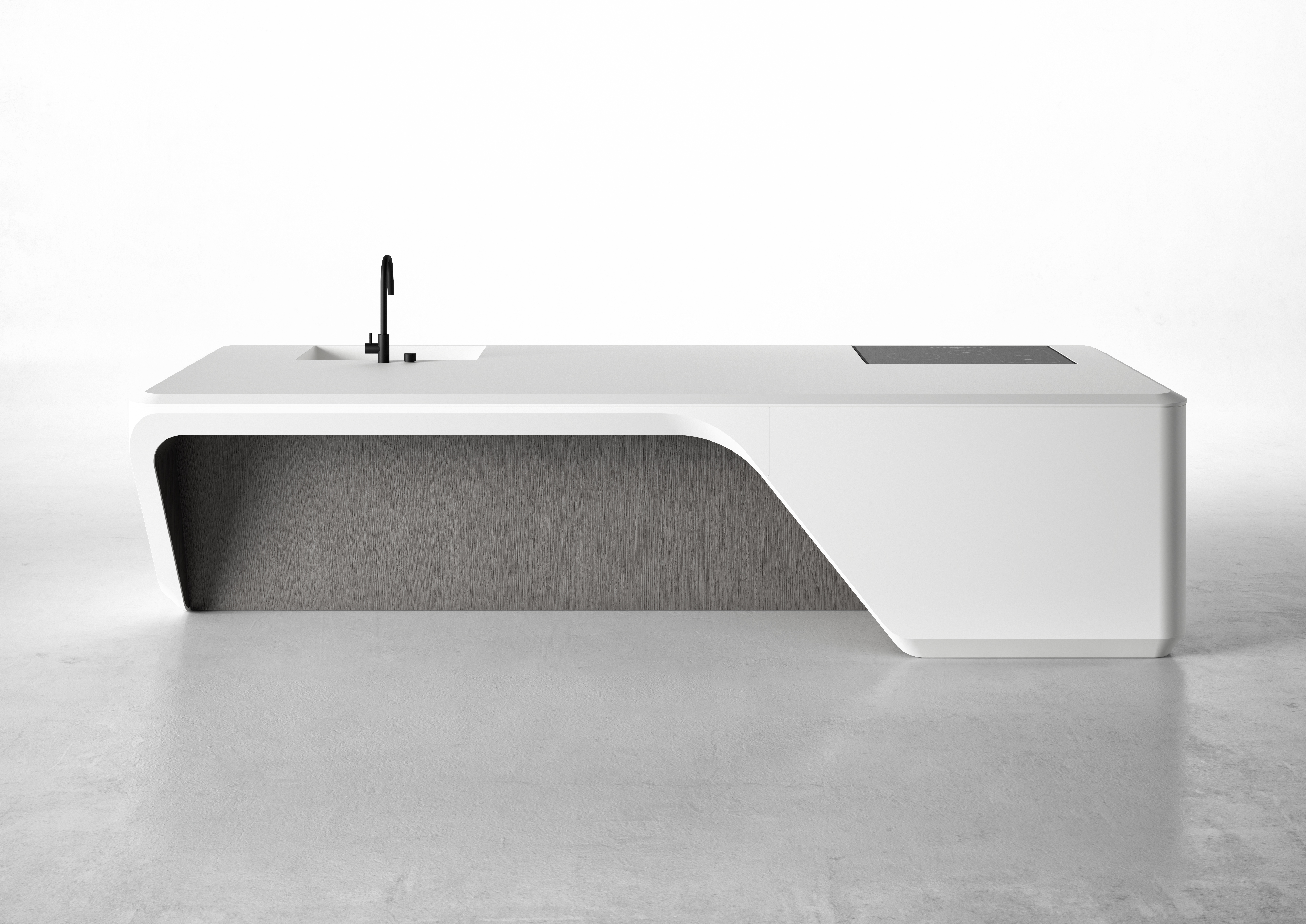 Boffi S New Contemporary Kitchen By Late Architect Zaha Hadid
