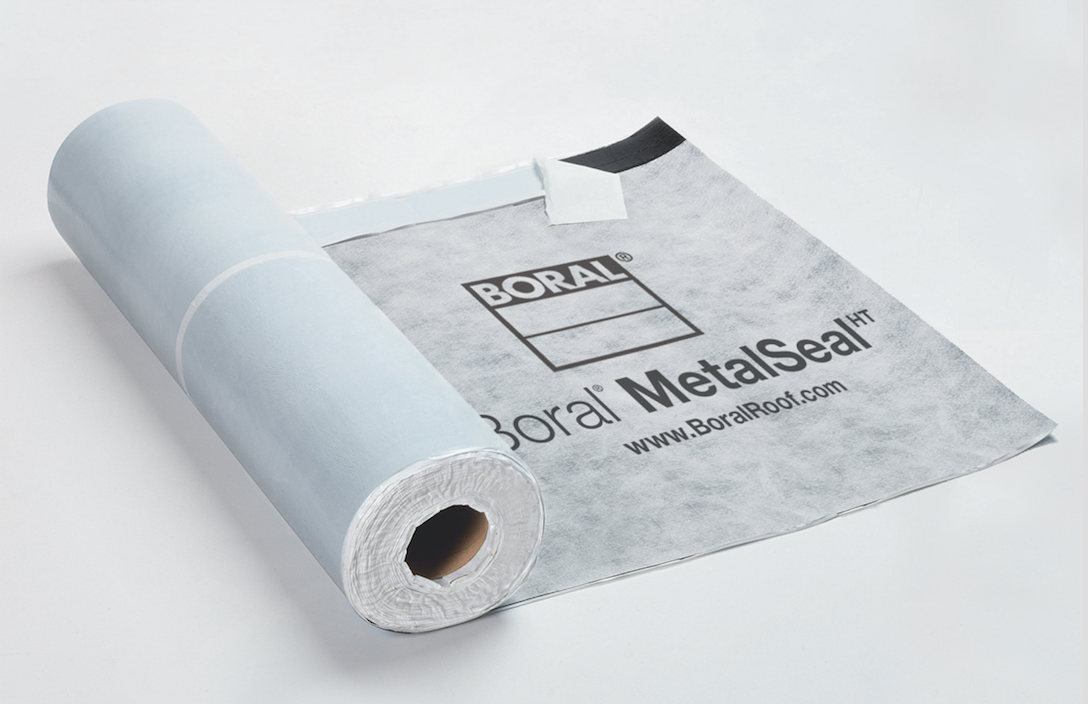 Boral Introduces Underlayment For Metal Roofs