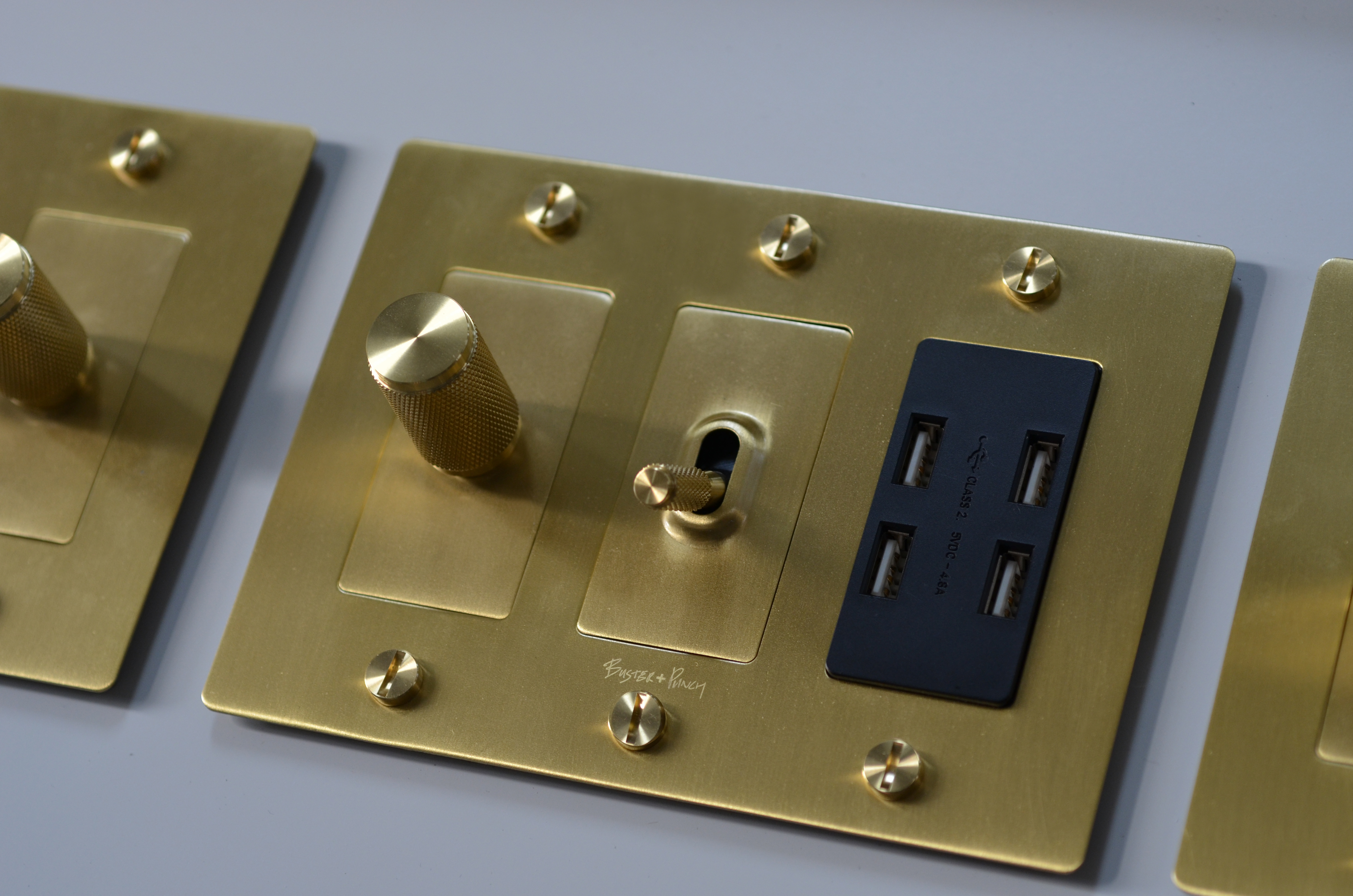buster punch brings rock roll inspired outlets switches to u s. Black Bedroom Furniture Sets. Home Design Ideas