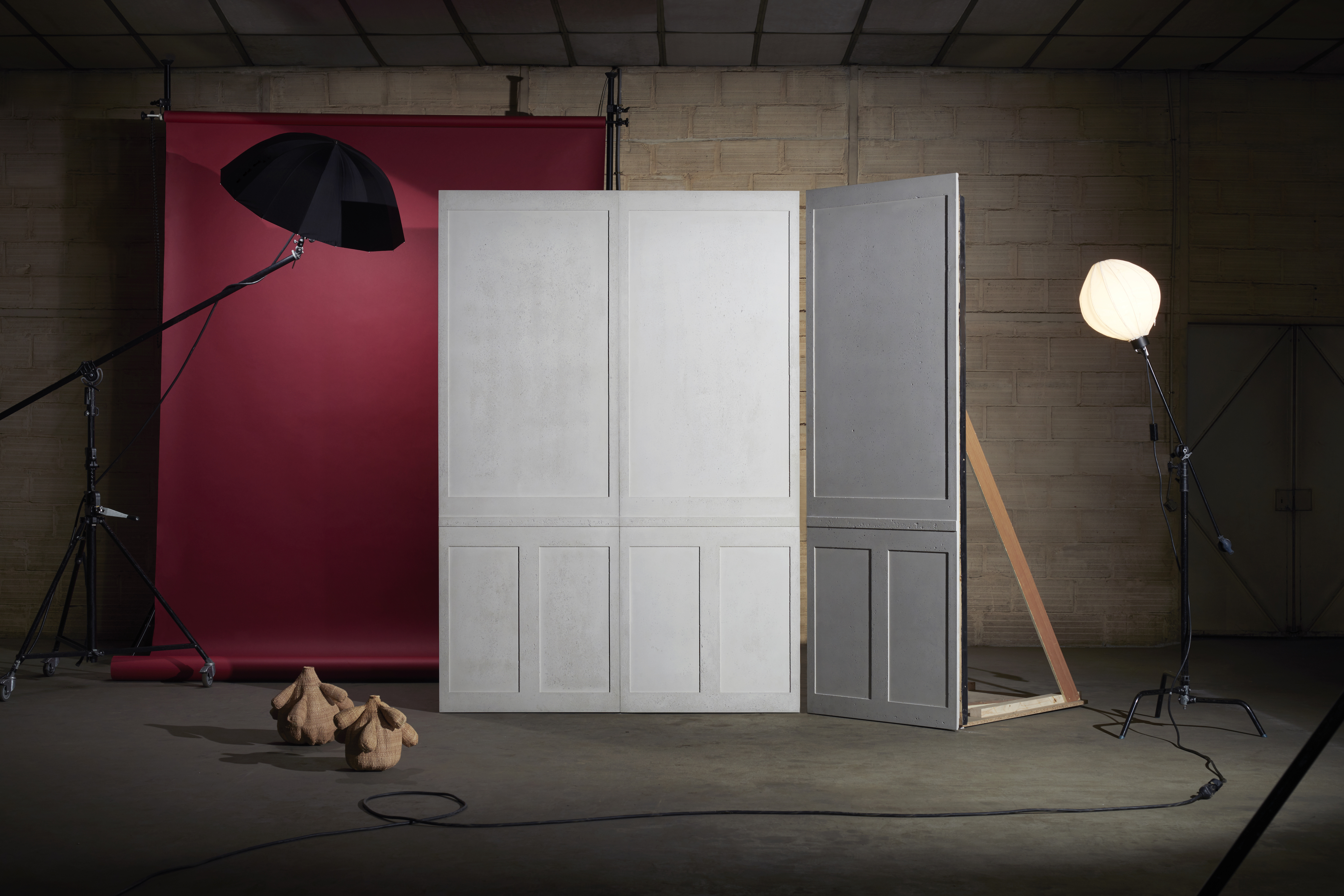 French firm introduces innovative concrete interior wall - Residential interior wall panel systems ...