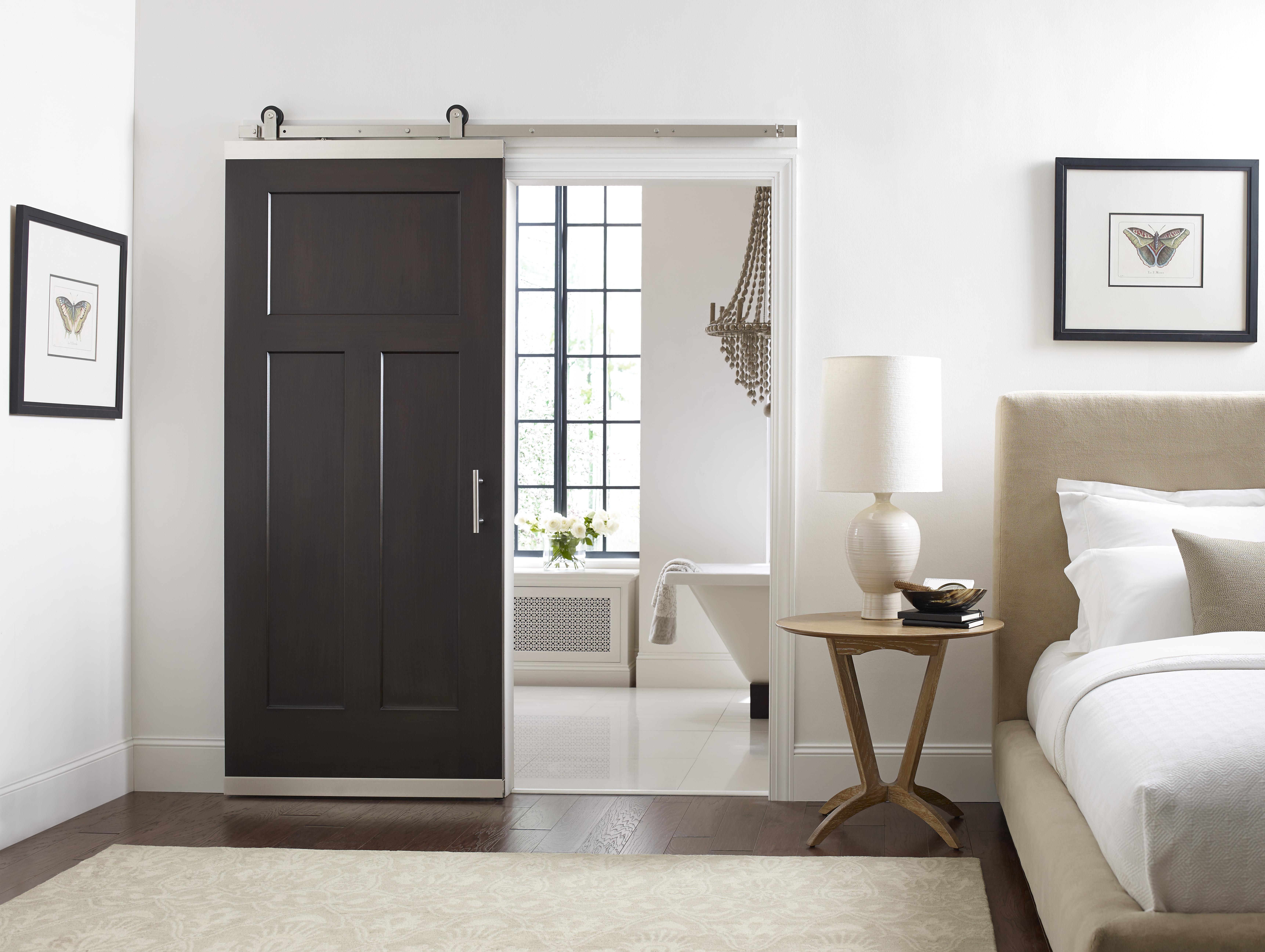 Jeld Wen System Transforms Standard Door Into A Barn Door