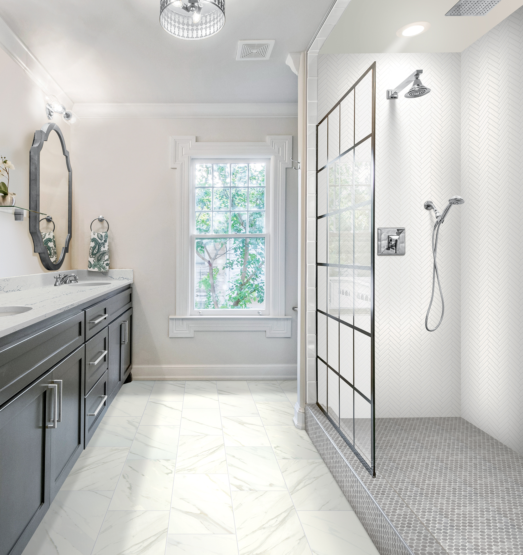 A Ceramic Tile Floor That Installs Twice As Fast Residential Products Online