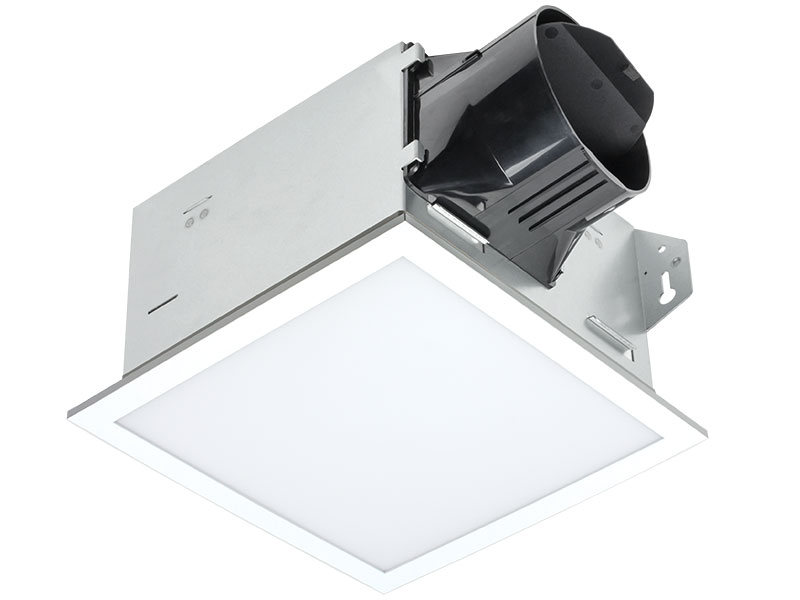 Delta Introduces Bath Fan With Edge Lit Led Light Products