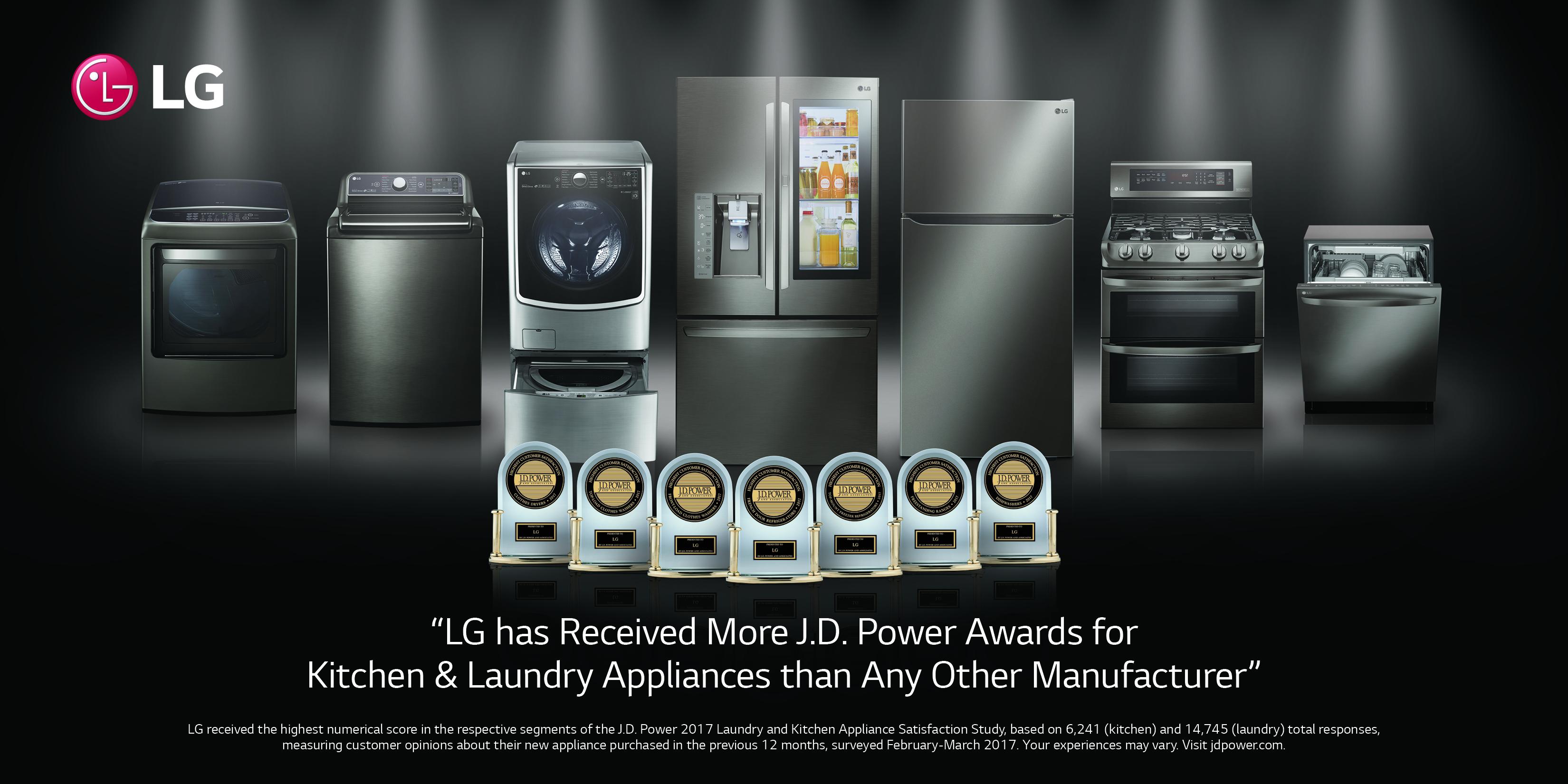 Lg Tops J D Power S Appliance Surveys In 7 Categories