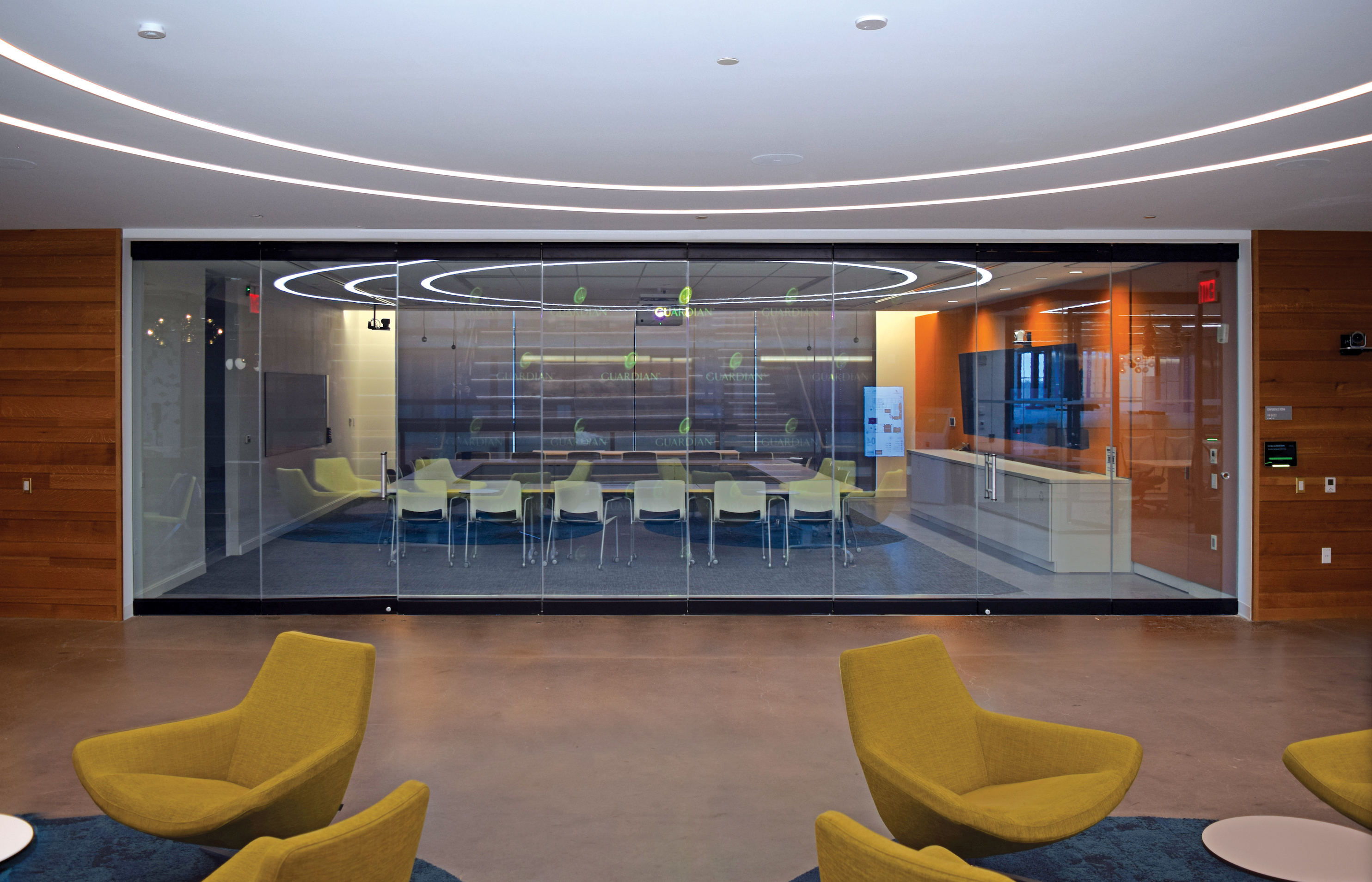 Nanawall Debuts Glass Wall System With Visual Privacy On