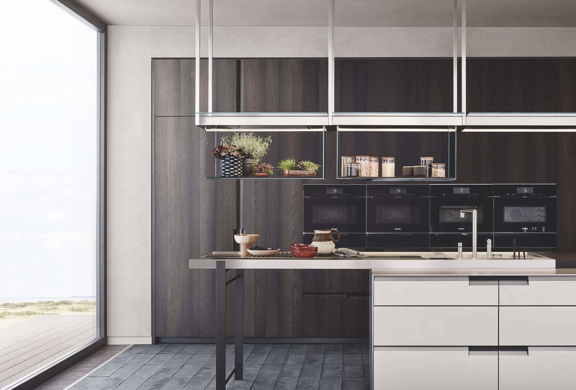 Poliform Debuts Line That Blends Living Room With Kitchen ...