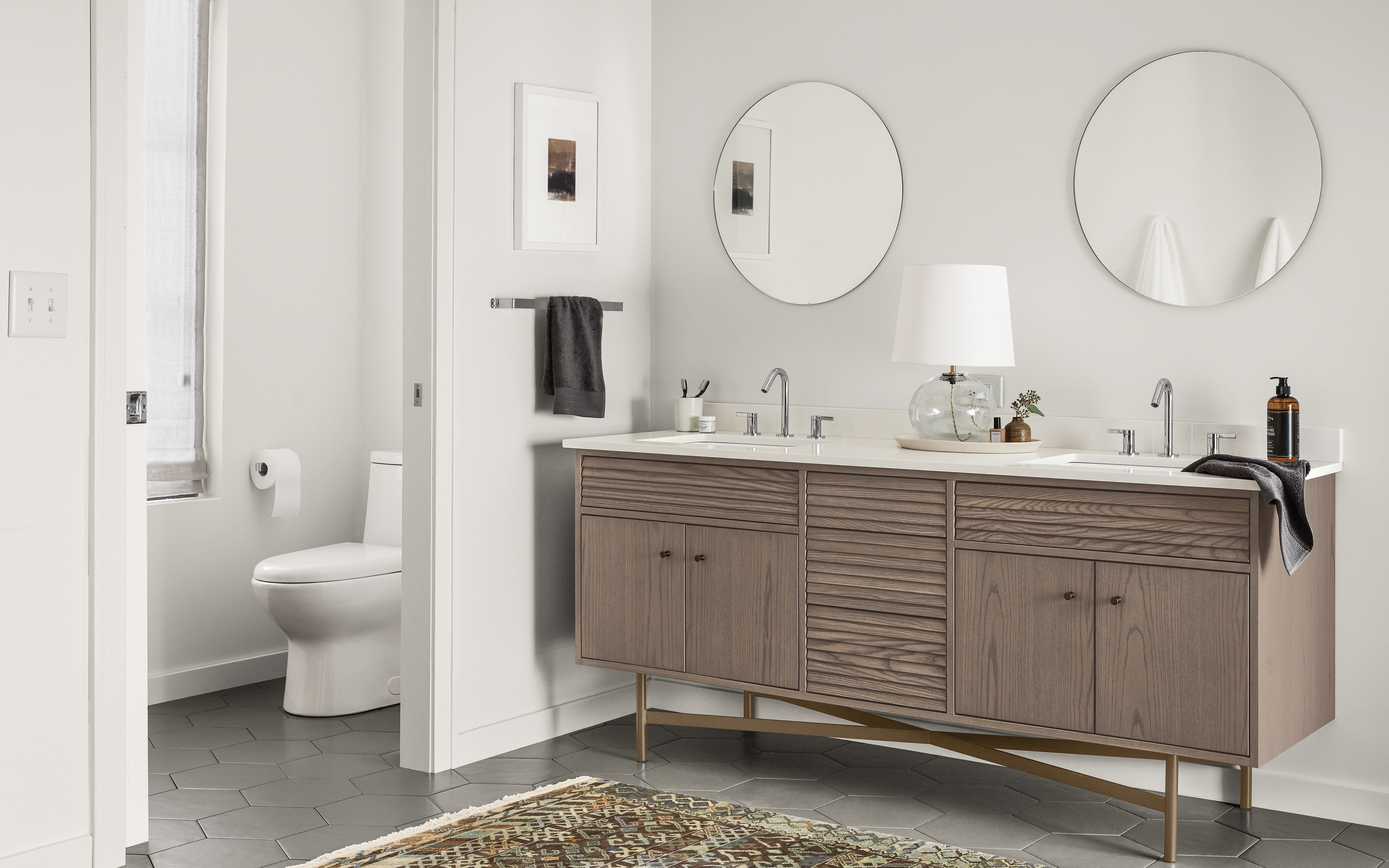 Room Amp Board Introduces New Bath Vanity Collection Products