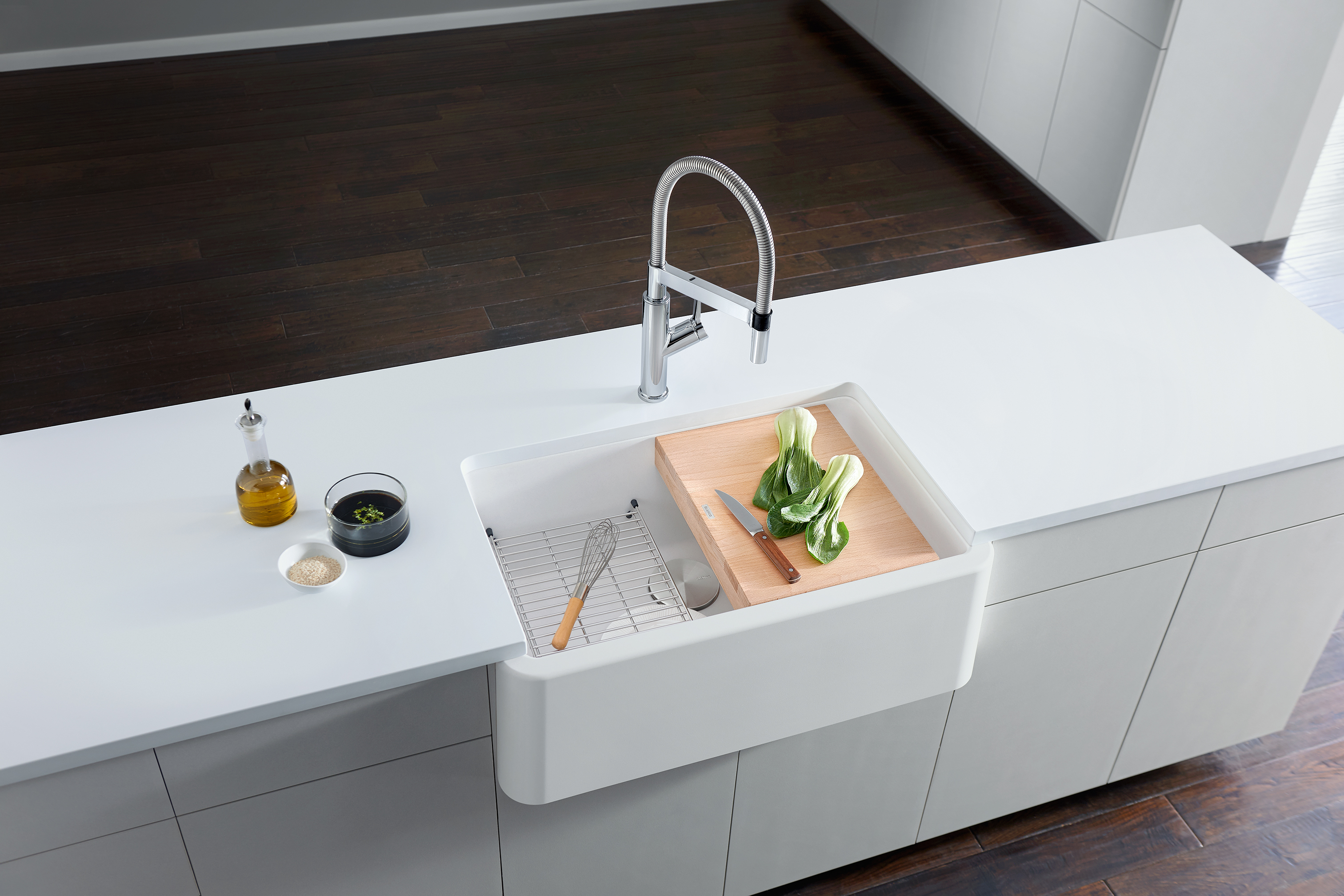 Blanco Features New Hands Free Professional Style Kitchen