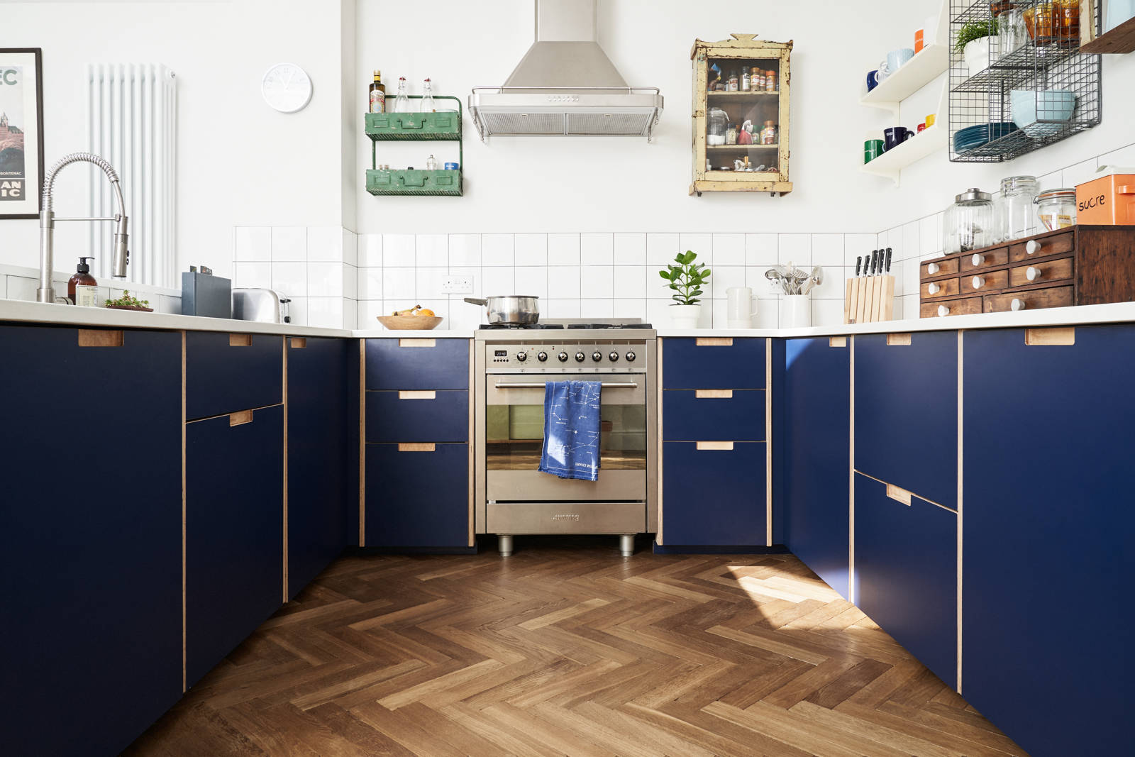 Blue Kitchen Cabinets Ikea 7 Door Brands for Dressing Up Ikea Kitchen Cabinets | Residential