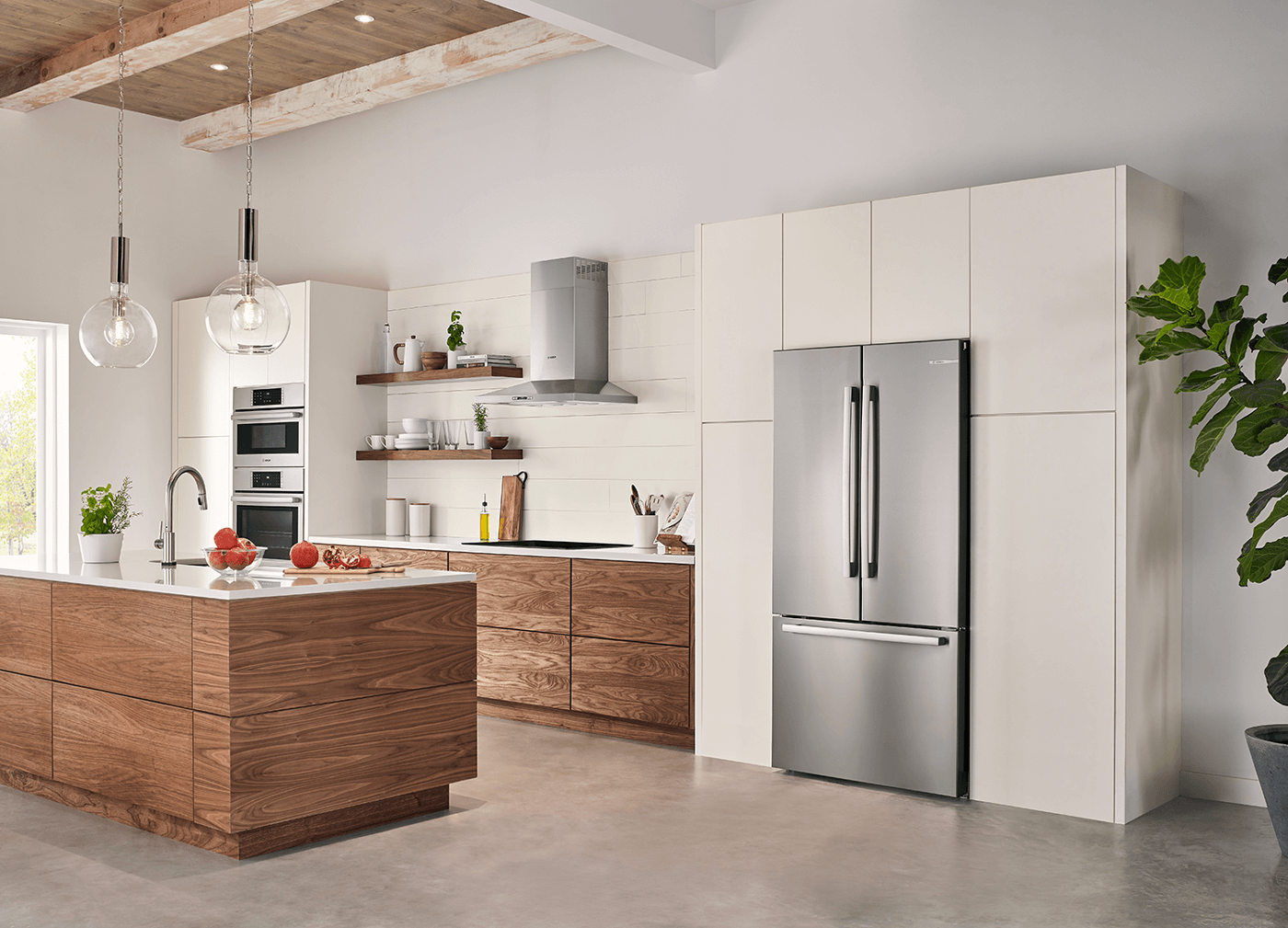 7 Tips For Achieving A Built In Refrigerator Look On A Budget Residential Products Online