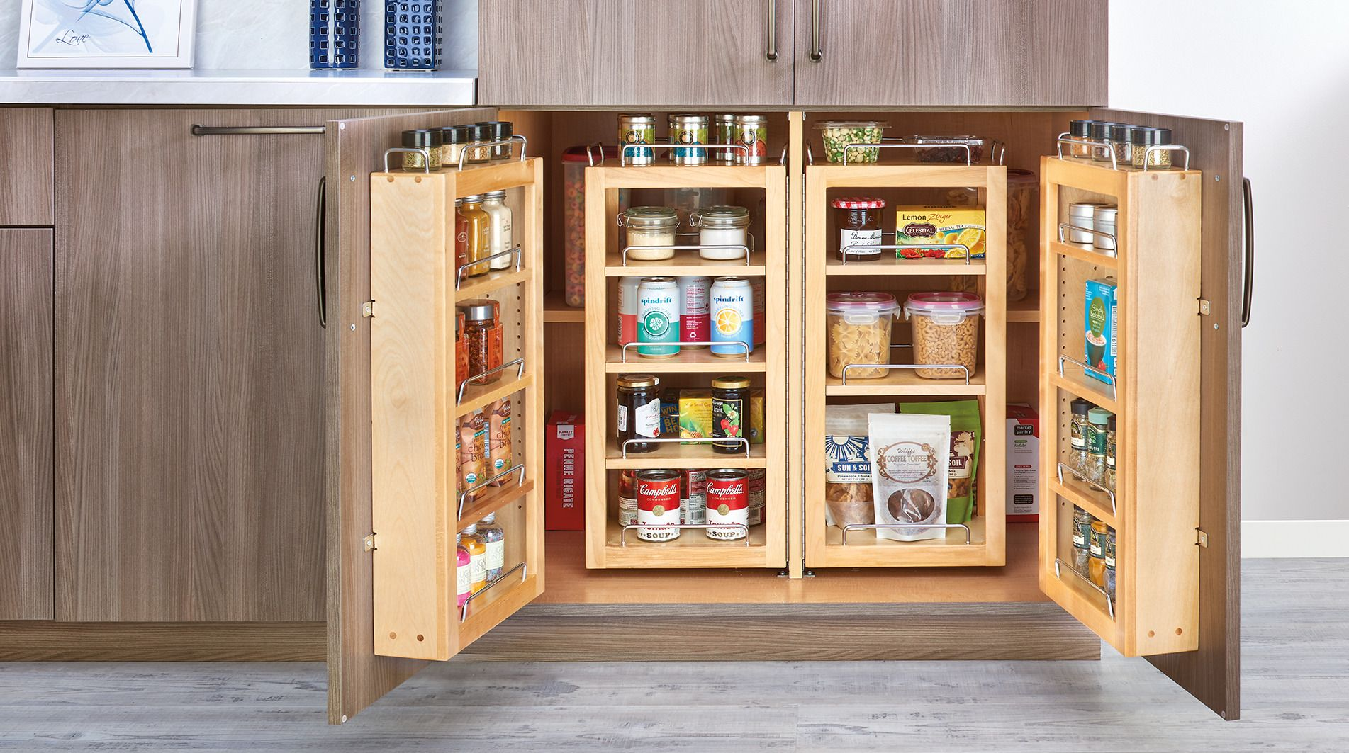 7 Interior Organizers That Will Improve The Utility Of Your Cabinets Residential Products Online