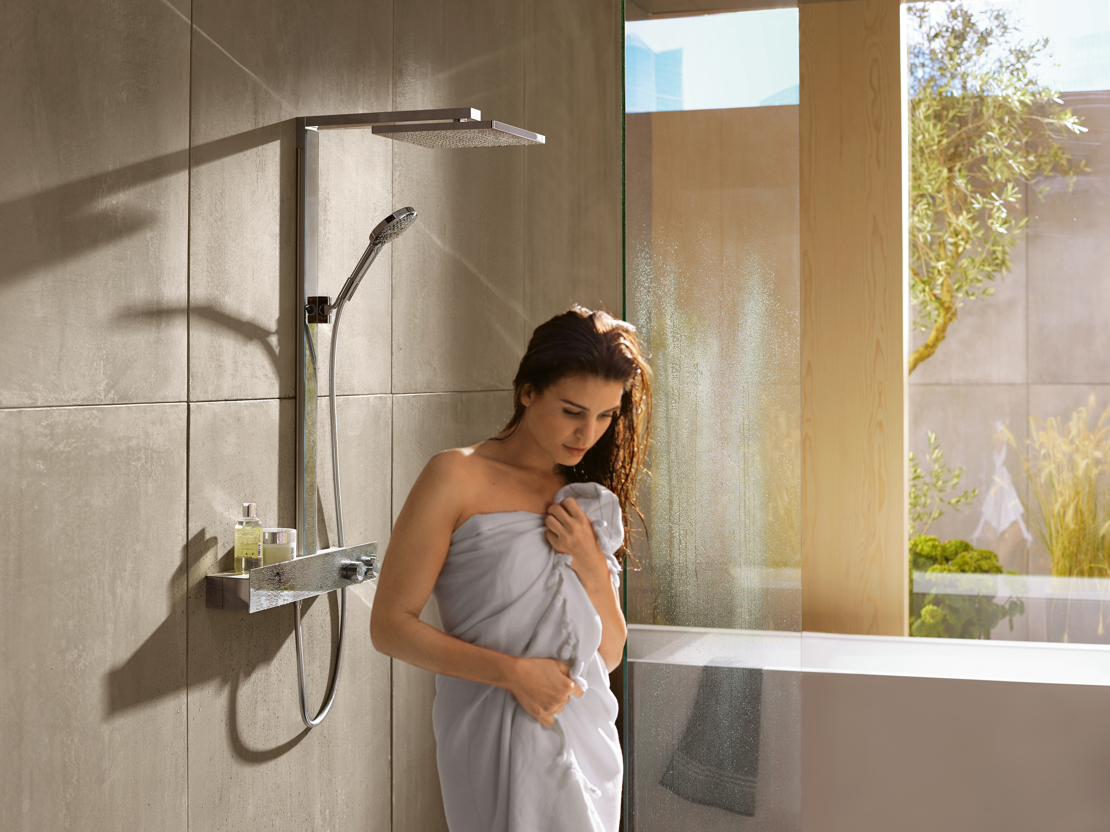 Hansgrohe Introduces New Collection Of Low Profile Rain