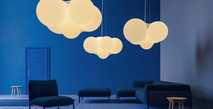 1 axolight suspension cloudy set 1