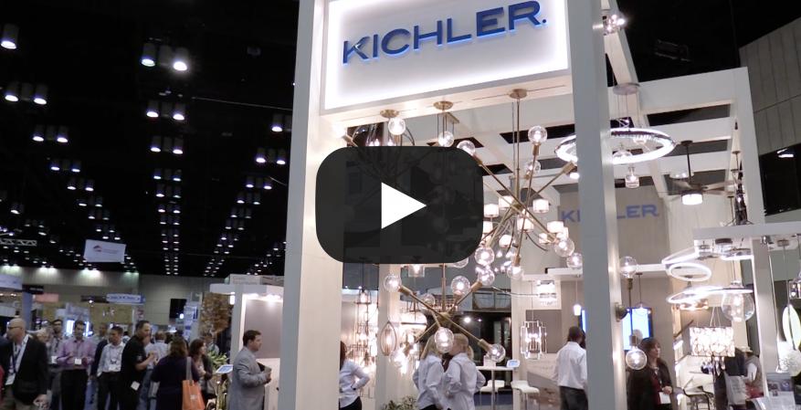 Kichler lighing at IBS