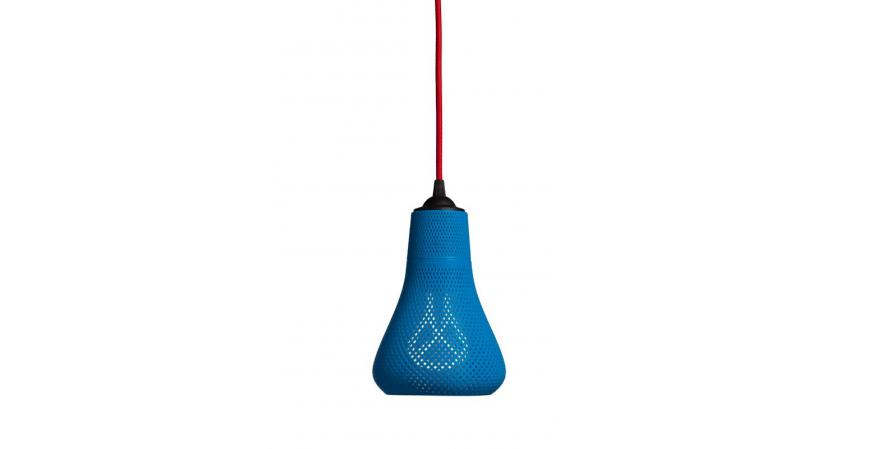 Blue Pluman Kayan 3D-printed lights