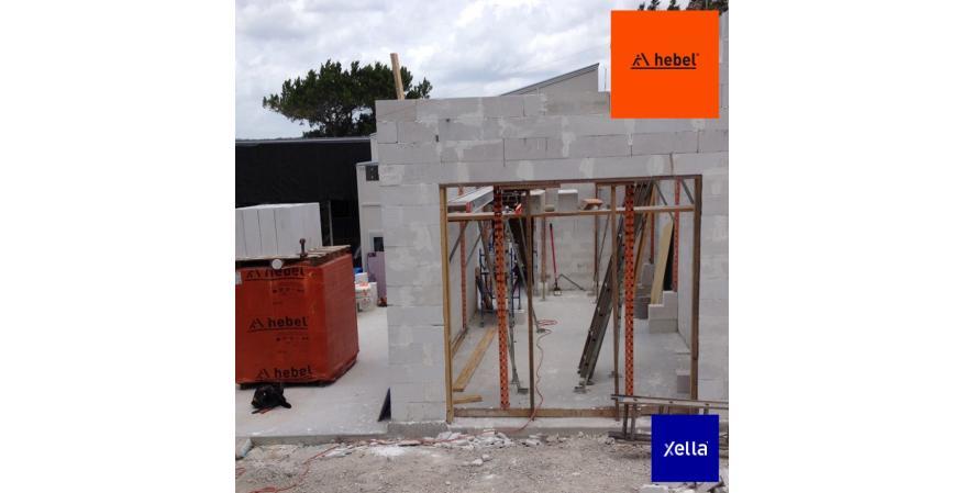 Hebel concrete power panels