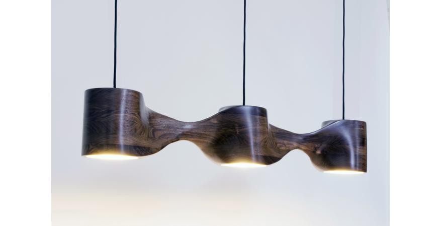 Aaron Scott N-series wooden pendant light