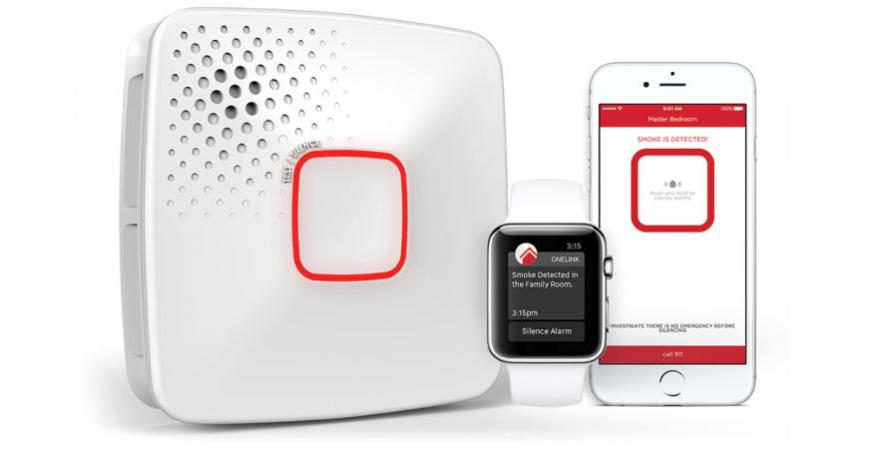 Onelink smoke and carbon monoxide detector and app