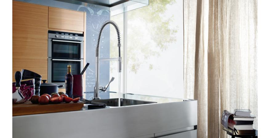 Hansgrohe's Axor Citterio Semi-Pro kitchen faucet