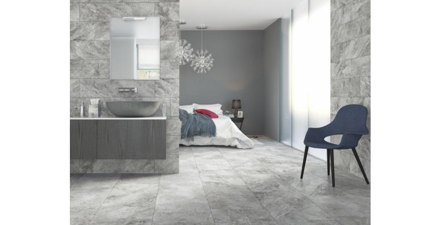 For bathroom ideas, ceramic is durable and can withstand moisture and abuse