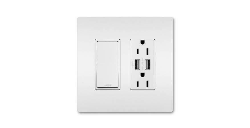Outlets and USB charging protect against electrical shocks or fires.