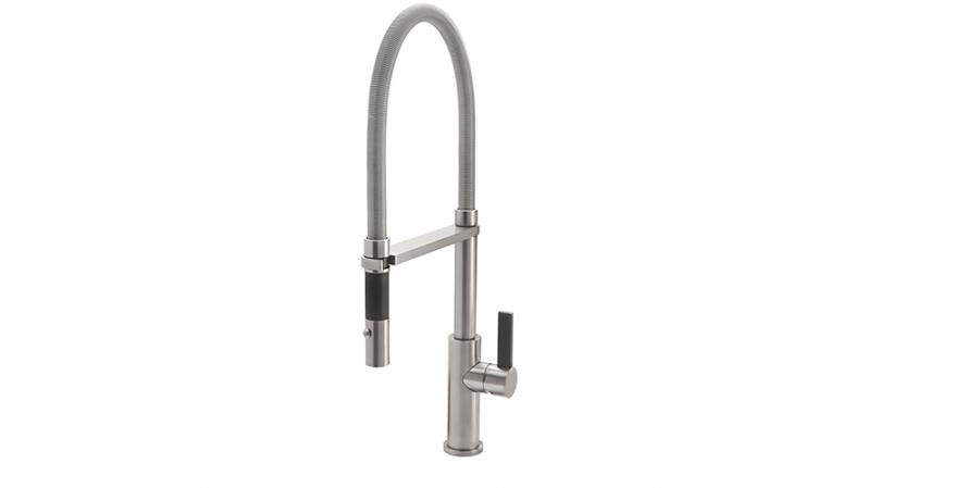 California Faucet's Culinary Corsano Culinary kitchen faucet.