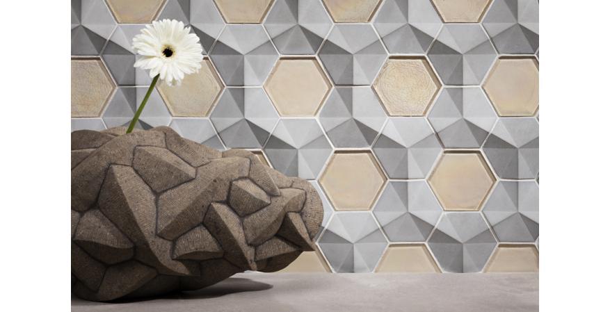 Lunada Bay Tile Contourz 3D concrete tiles