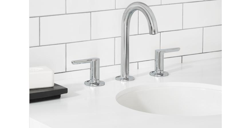American Standard Studio S high spout faucet with lever handles
