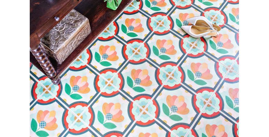 Mirth Studio engineered wood floor tiles