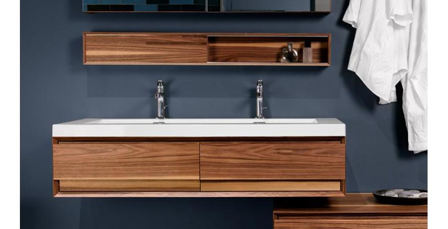 A wall-mounted vanity is one of the best bathroom ideas