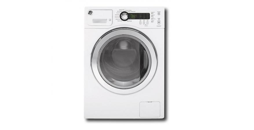 GE 2.2-cubic-foot high-efficiency compact washer