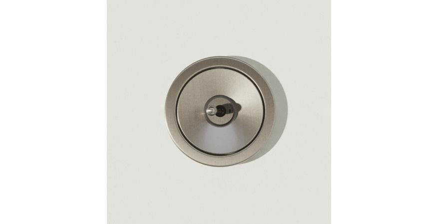 Juniper Ground Control toggle switch nickel
