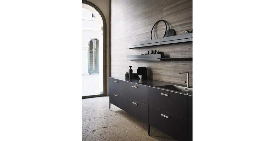Cesar New York freestanding kitchen cabinet modules