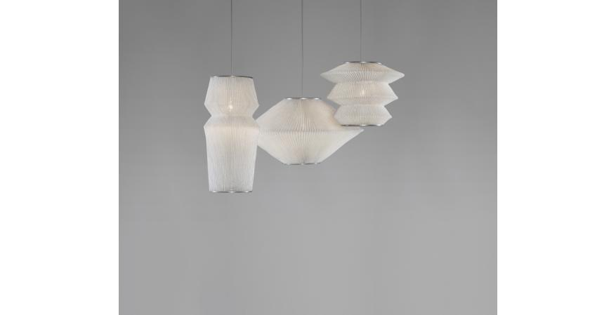 Arturo Alvarez Ura collection of steel mesh lights