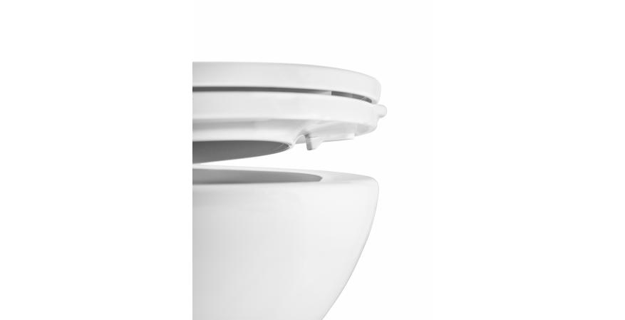 American Standard ActiClean self cleaning toilet seat bumpers.