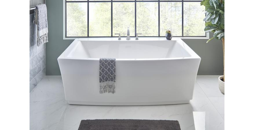american standard free standing tub. American Standard Townsend freestanding tub Expands Collection of Bath Fixtures
