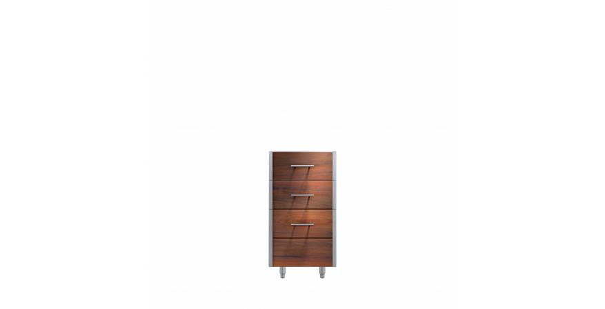 Kalamazoo Arcadia outdoor cabinet in Ipe wood