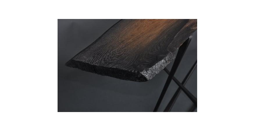 Telt, Inc. Bog Oak table
