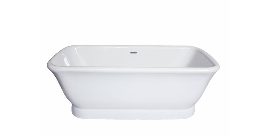 Brigitte bathtub from Mansfield plumbing