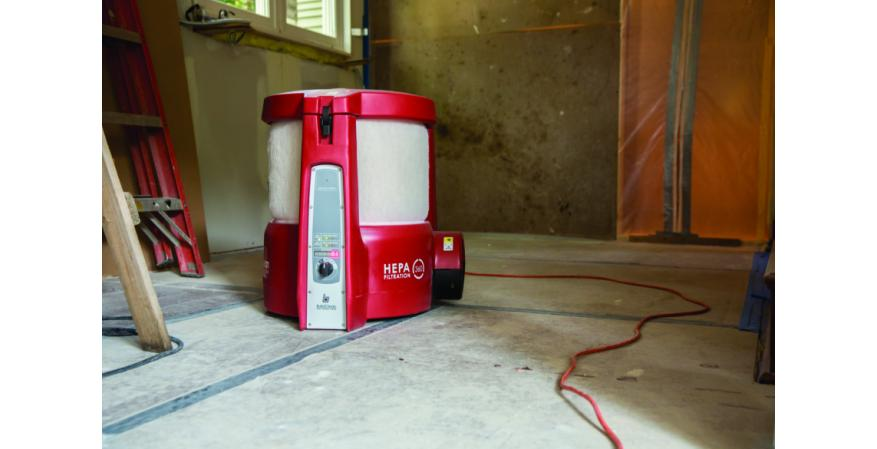The makers of the BuildClean Dust Control System says the product virtually eliminates airborne dust that results from demolition, sanding, and other standard remodeling tasks, making spaces more livable for clients who choose to stay in their homes during a job.  The device removes up to 90 percent of the airborne dust generated in the remodeling process, which minimizes the migration of dust and preserves home livability even in the most challenging remodeling projects.