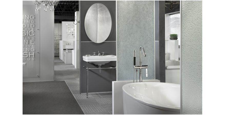 Bathroom Showrooms Atlanta new interactive k+b showrooms let buyers try before they buy