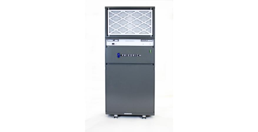 The new VRP combines the benefits of variable refrigerant flow technology with Friedrich's single packaged unit.