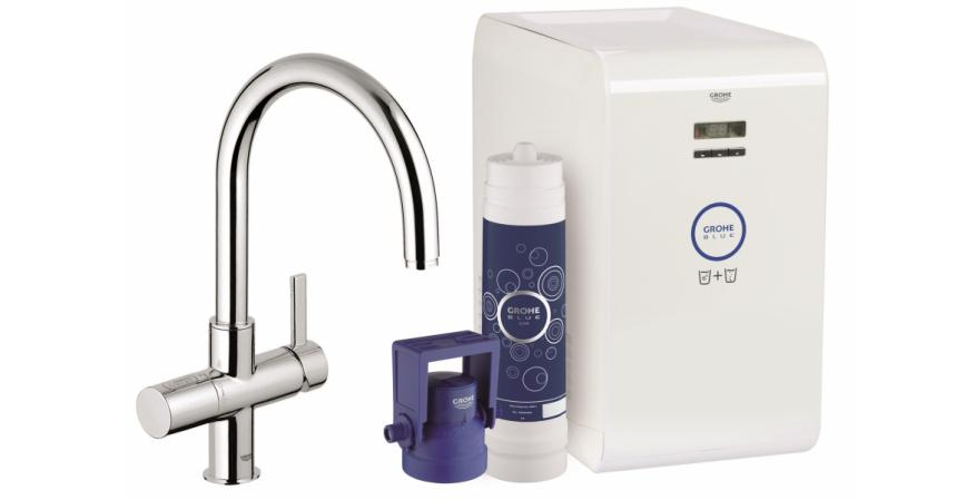 Blue Chilled and Sparkling Water System by Grohe