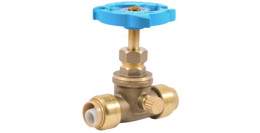Gate Valve with Drain_24634LF