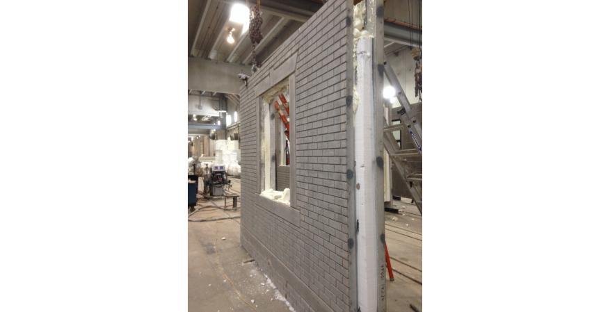 Dukane precast concrete panel