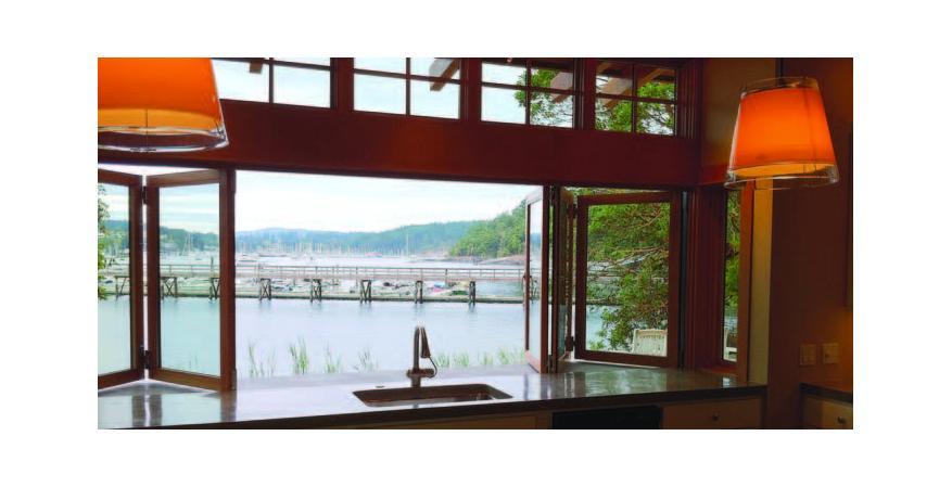 Jeld-Wen wood-folding window