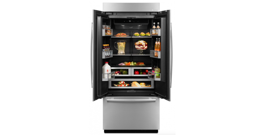 Obsidian refrigerator by Jenn-Air