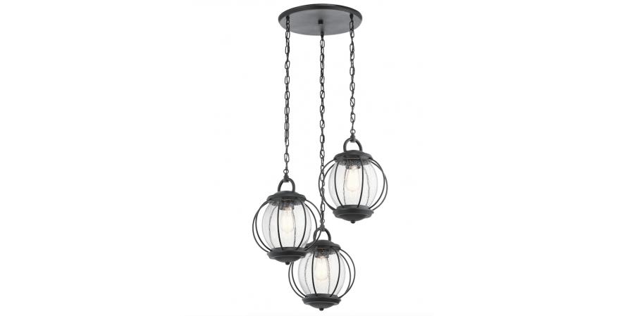 Kichler Vandalia ceiling light silo