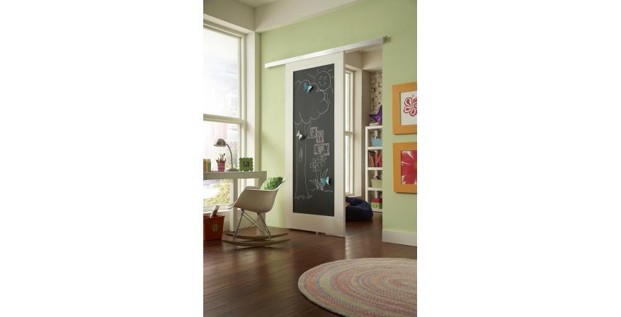 LE Johnson soft-close wall-mount sliding door